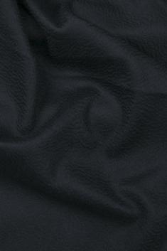 Étole cachemire noire à franges