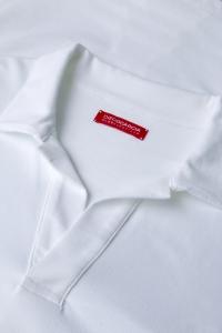 Moscow - Polo coton piqué tricolore rouge/bleu/blanc