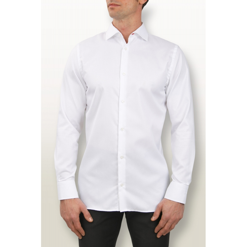 Chemise Oxford Blanche Slim Fit - Chemises pour homme - Diego Garcia 22765818aa3c