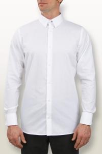 Manhattan - Chemise cérémonie popeline blanche