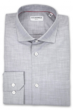 Scala slim fit chambray classic shirt