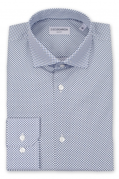 Malasana white spotted casual shirt