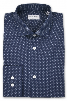 Chemise casual Angelo pois