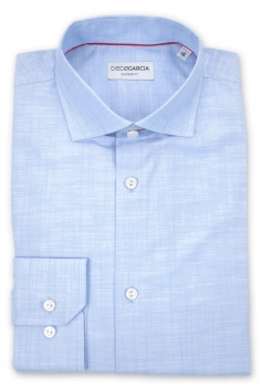 Chemise classique Scala chambray regular
