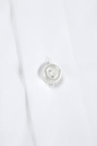 Savile - Chemise classique popeline blanche / Slim