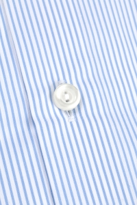 Mayfair - Blue striped classic shirt / Slim fit
