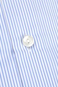 Chicago - Chemise habillée popeline rayée bleu