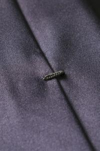 Grey thin tie