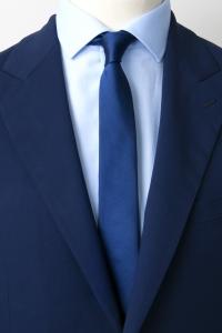 Blue thin tie