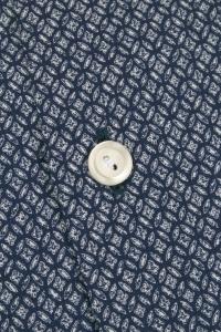 Gracia - Geometric flannel casual shirt