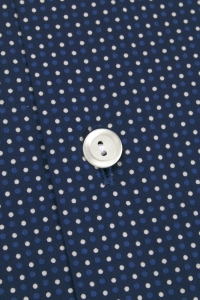Angelo - Navue blue spotted casual shirt