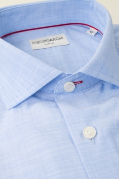 Scala chambray slim fit classic shirt