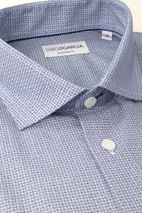 Rialto - Geometric flannel casual shirt