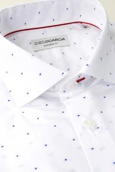 Gigaro white muslin classic shirt