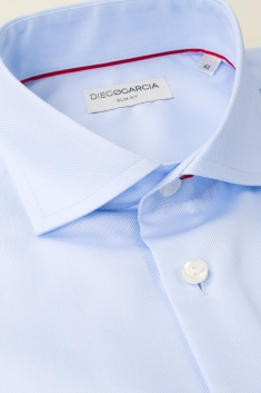 Oxford blue classic shirt