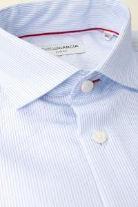 Tribeca - Blue fine stripes classic shirt