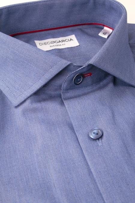 Stockholm - Grey blue classic popeline shirt
