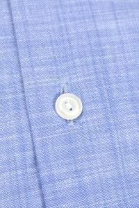 Melbourne - Chemise habillée chambray bleue / Regular