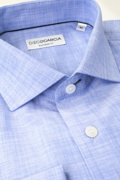 Melbourne chambray regular fit dress shirt