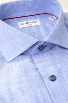 Brisbane slim fit chambray classic shirt
