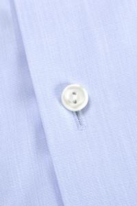 Savile - Chemise classique popeline bleu clair / Slim