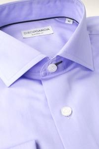 Beverly - Lilac poplin dress shirt / Regular fit