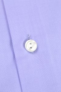 Duomo - Violet blue classic shirt / Slim fit