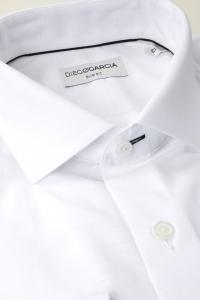 Melbourne - White chambray dress shirt / Slim fit