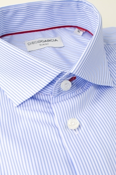 Mayfair striped slim fit classic shirt