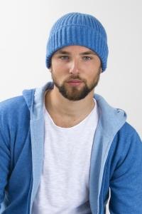 Bonnet côtes bleu
