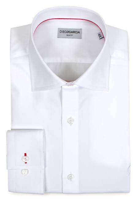 Chemise grandes manches Executive blanche