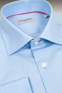 Chemise grandes manches Executive bleue