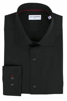 Black Executive classic shirt / Extra Long