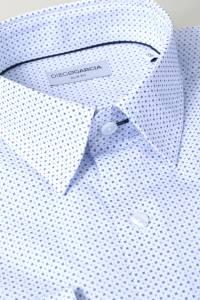 Chemise casual Amalfi imprimés géométriques / Extra Long