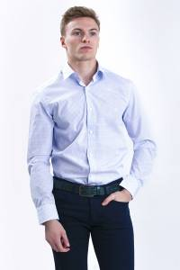Amalfi geometric printed casual shirt / Extra Long