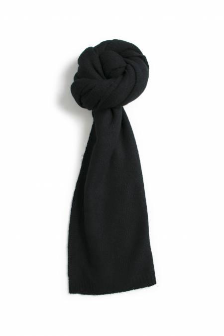 42a6ecaee5 Écharpe cachemire tricotée - Noir
