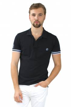 Polo Wellington bicolore