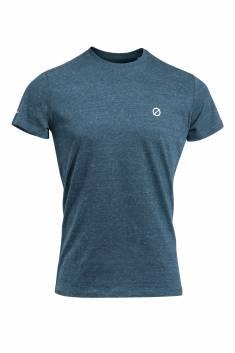 Denim round neck t-shirt