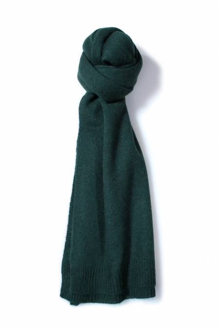 Azur knitted cashmere scarf