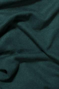 Écharpe cachemire tricotée bleu azur