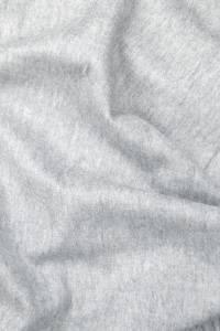 Étole cachemire gris argent à franges