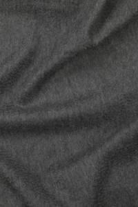 Fringed dark grey cashmere stole