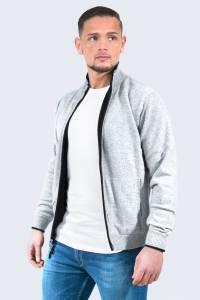 Black/Grey reversible cashmere vest
