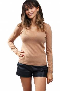2-Yarns cashmere sweater V neck