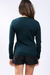 2-Yarns cashmere sweater V neck