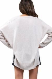 Oversized cashmere sweater