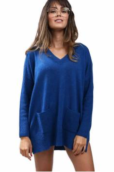 Pull cachemire oversize
