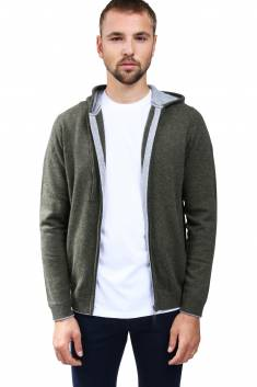 Cashmere hooded vest