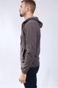 Cashmere hooded vest