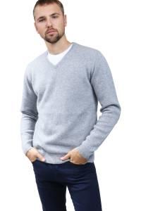 4 yarns cashmere V-neck sweater